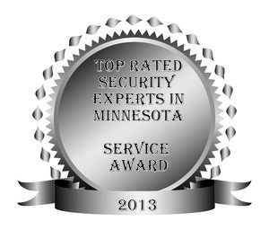 Top rated home security experts award in 2013